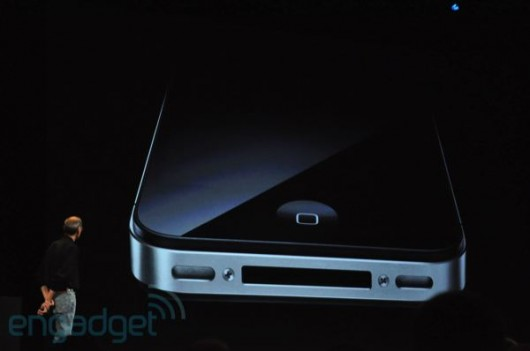 iPhone 4 set fra neden