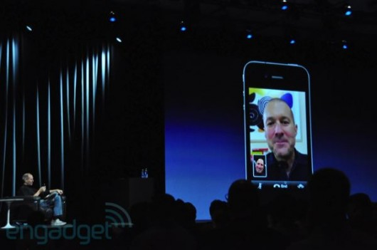 Steve Jobs med FaceTime